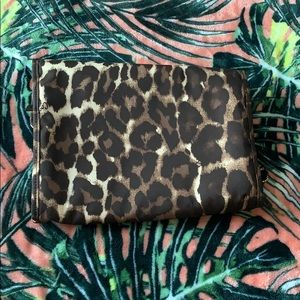 Coach Bags - COACH Leopard Print Travel Hanging Cosmetic Case
